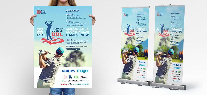 Cartel Torneo Golf DDL