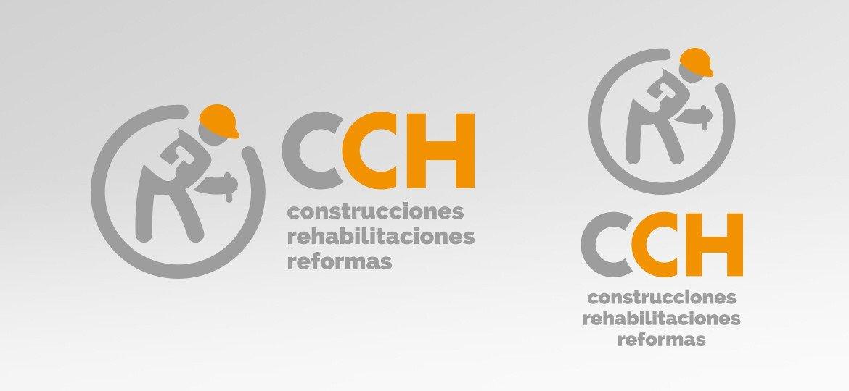 Logotipo CCH. Construcciones Charco