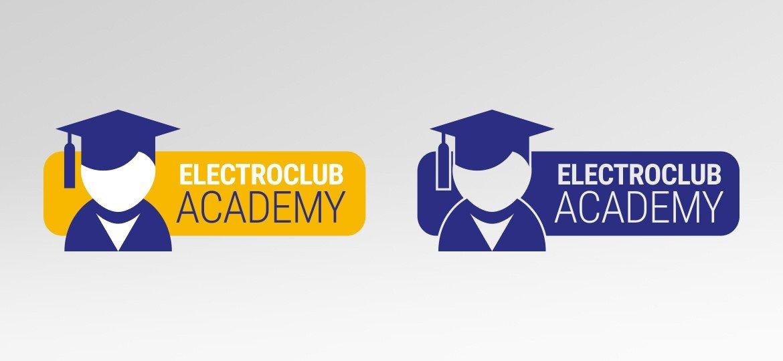 Logotipo Electroclub Academy