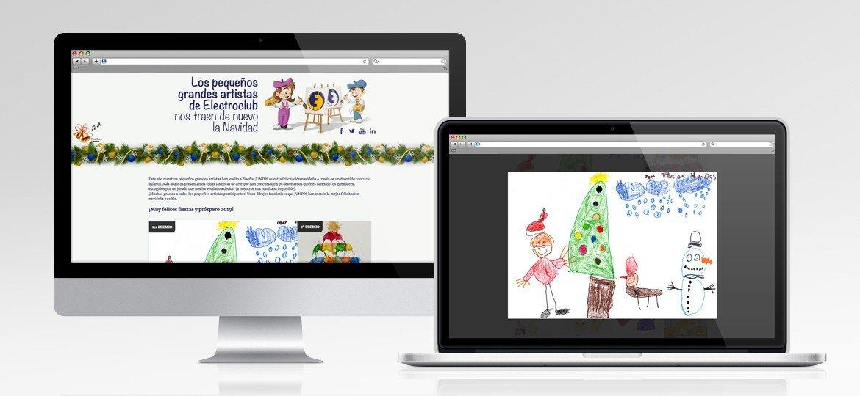 Concurso de dibujo infantil Electroclub 2018