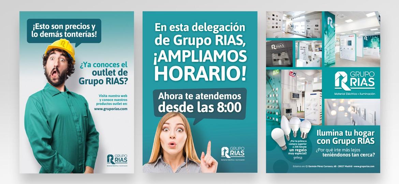 Publicidades Grupo RIAS