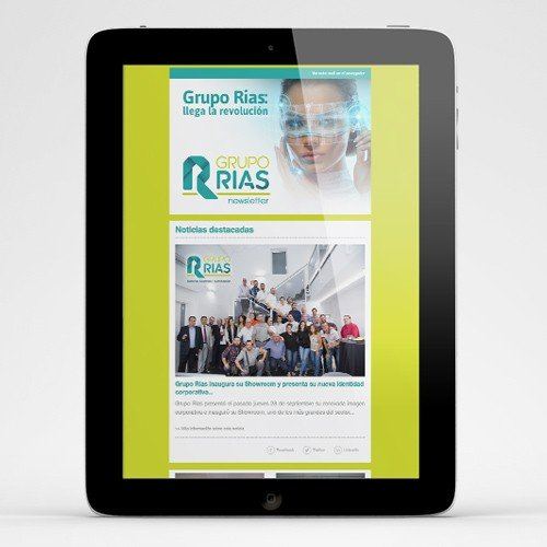 Newsletters Grupo RIAS