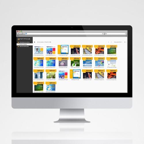 Aplicación Web Revista Informa